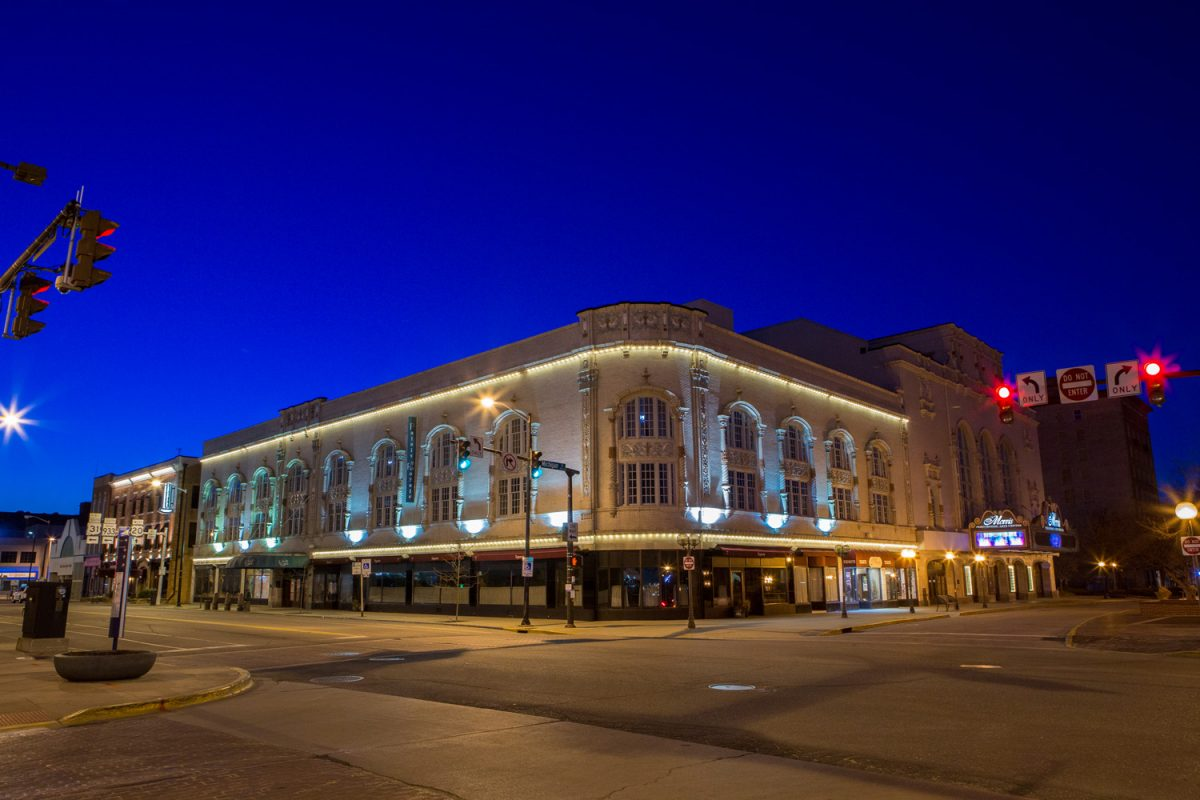 Located in the heart of South Bend, Indiana the Palais Royale at Morris Performing Arts Center