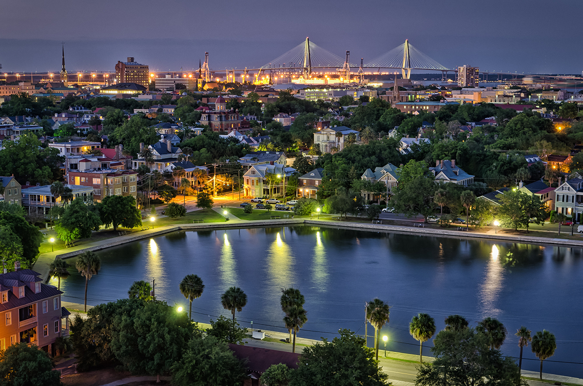 charleston night